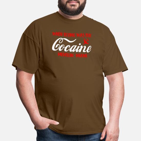 Cocaine Periodic Table Symbols Mens Funny T-Shirt Drug Humour Science Joke