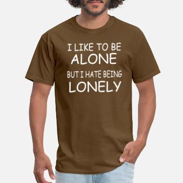Lonely Girl lonely Copy - Men's T-Shirt