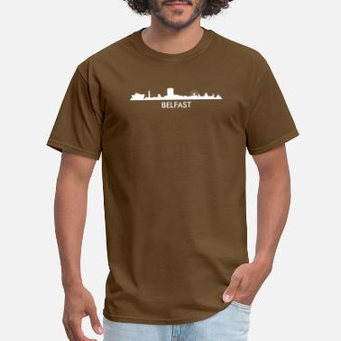 Belfast Northern Ireland Belfast Northern Ireland Skyline - Men's T-Shirt