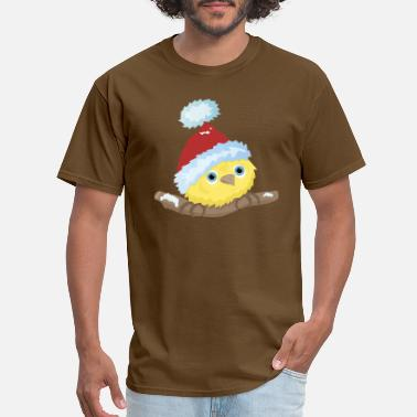 Christmas Snow Bird Christmas Bird - Men's T-Shirt