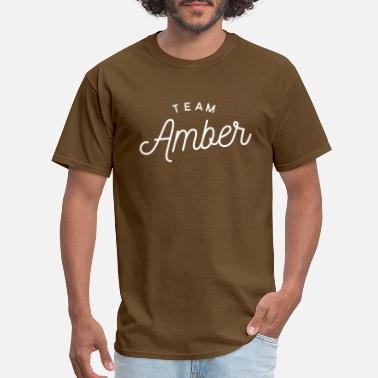 Amber Team Amber - Men's T-Shirt