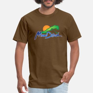 Miami Geek Miami Beach - Men's T-Shirt