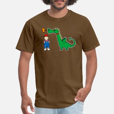 Dragon Boys dragon - Men's T-Shirt