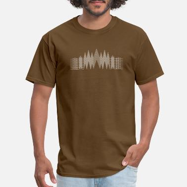 Line Skis Mountains Lines - Men's T-Shirt