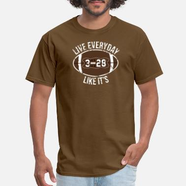Atlanta Sports Live Everyday Like It's NE 3 ATL 28 The Final - Men's T-Shirt