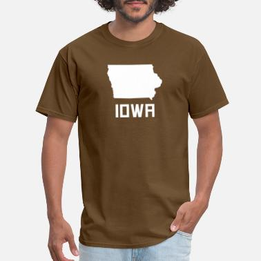 Iowa Iowa State Silhouette - Men's T-Shirt
