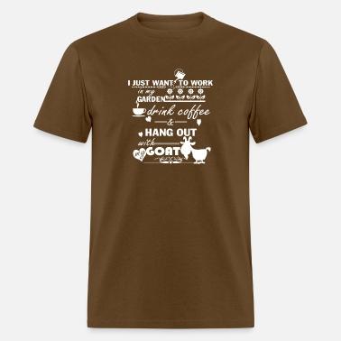146ffe77 Gardening Coffee and Goats Shirt Men's Premium T-Shirt | Spreadshirt