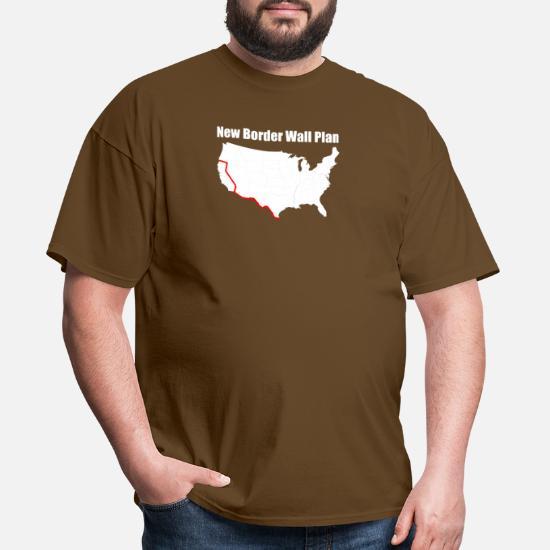 97846540 Front. Back. Back. Design. Front. Front. Back. Design. Front. Front. Back.  Back. Liberal T-Shirts - Funny Border Wall ...