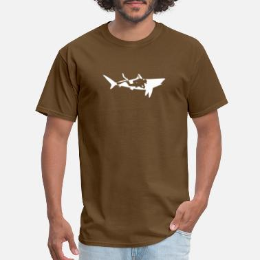 Diver Sharks diver shark - Men's T-Shirt