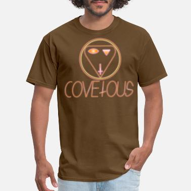 Covetousness sunburst covetous - Men's T-Shirt