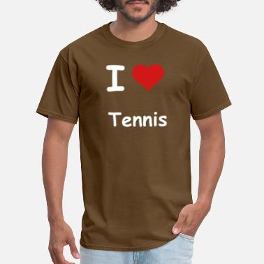I Love Tennis i-love-tennis - Men's T-Shirt