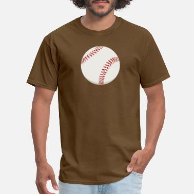 Baseball Baseball HD Sports Design Ball / Games - Men's T-Shirt
