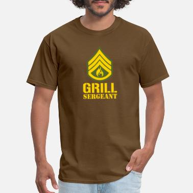 Sergeant Military Grill Sergeant Military - Men's T-Shirt