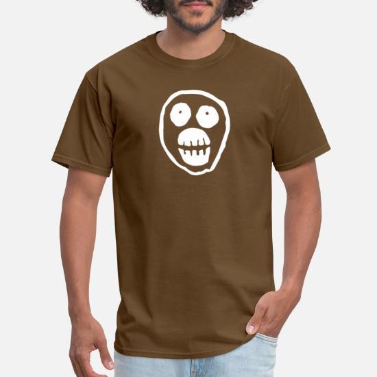Funny Skull Series Gifts Unisex Tee Top Skulls Tshirt The Mighty Boosh T-Shirt