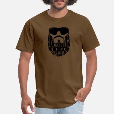 Live Long LONG LIVE THE BEARD - Men's T-Shirt