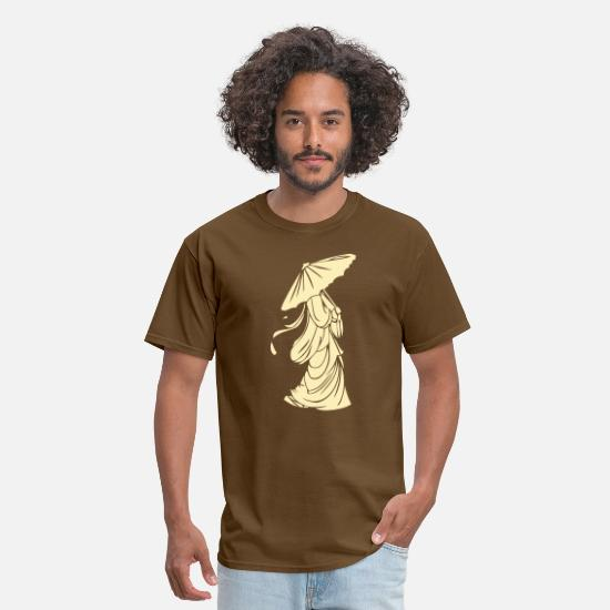 Geisha T-Shirts - Geisha - Men's T-Shirt brown