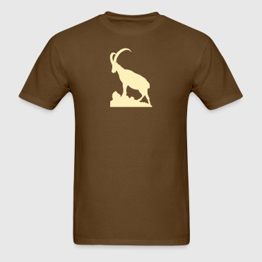 Ibex Capricorn Steinbock proud - Men's T-Shirt