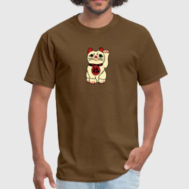 good fortune cat - Men's T-Shirt