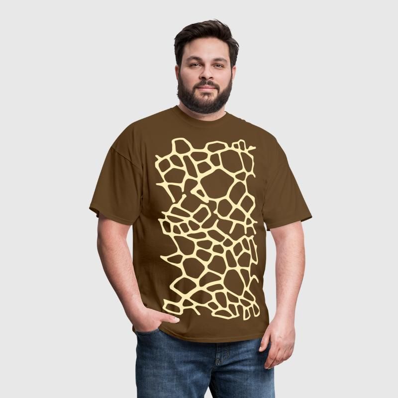 Giraffe Print 1 - Men's T-Shirt