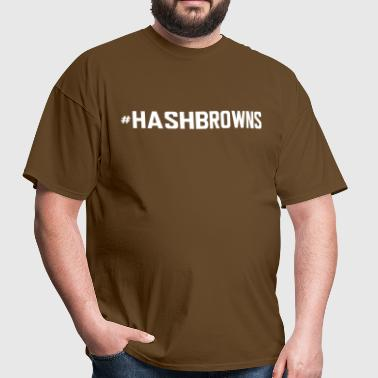 #hashbrowns - Men's T-Shirt