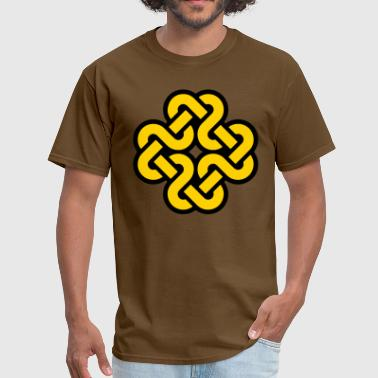 Knot pattern - Men's T-Shirt
