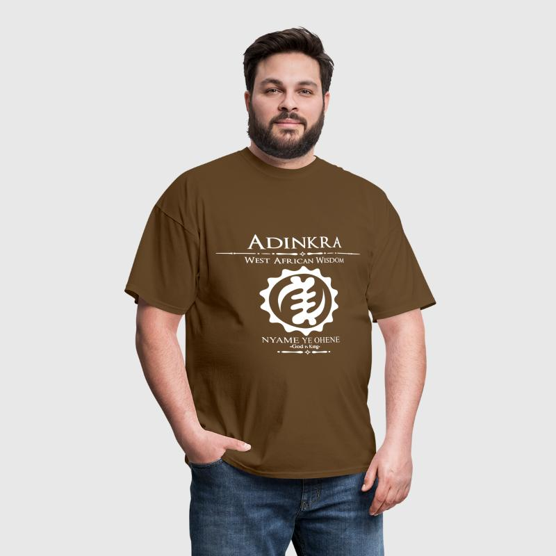 Adinkra God is King  - Men's T-Shirt