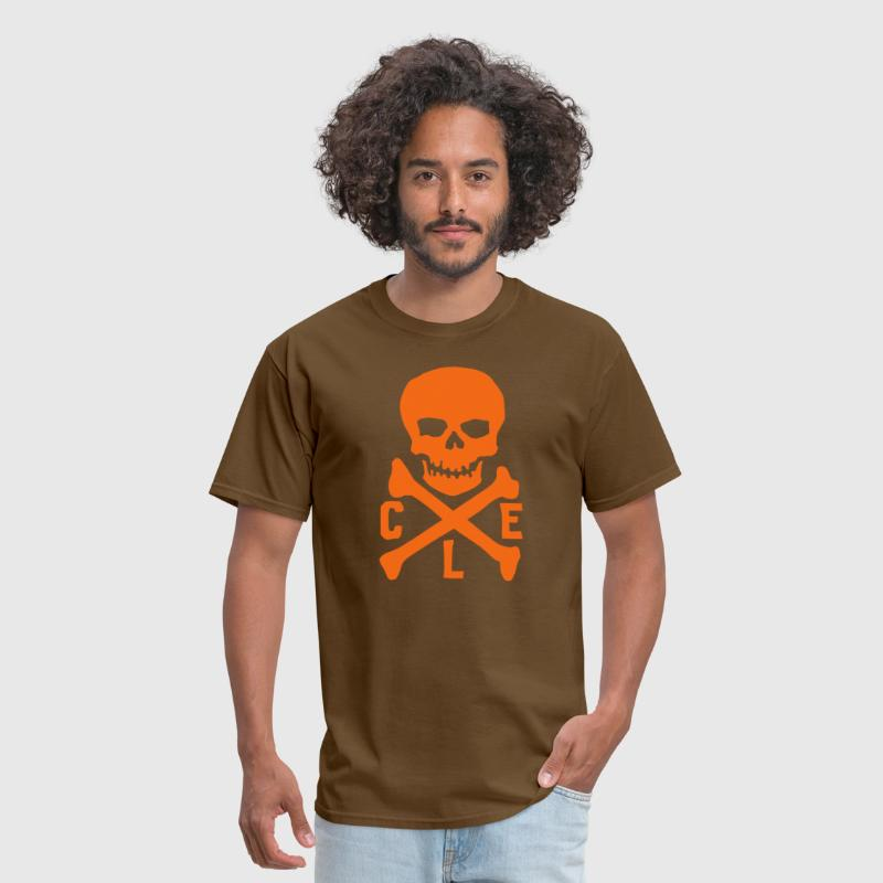 CLE Skull - Men's T-Shirt
