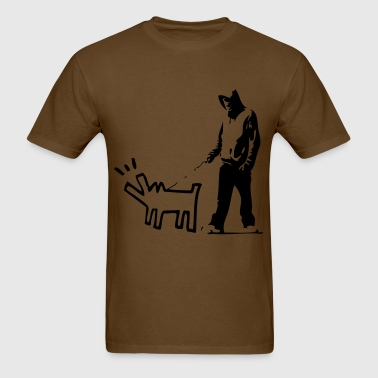 Bark stencil - Men's T-Shirt
