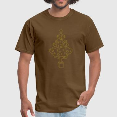 CHRISTMAS TREE 2 - Men's T-Shirt
