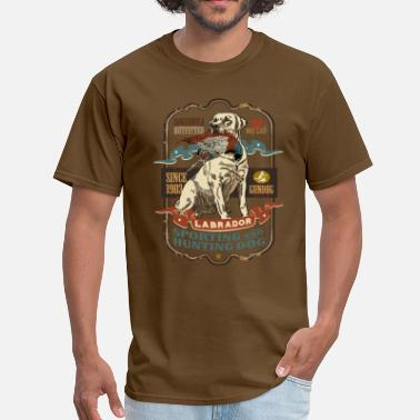 Labrador Retriever labrador_and_pheasant_y - Men's T-Shirt