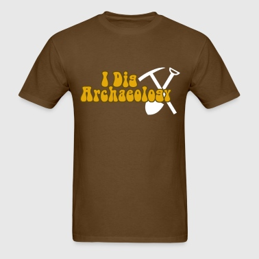 Archaeology Dark - Men's T-Shirt
