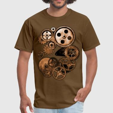 Steampunk Gears - Men's T-Shirt