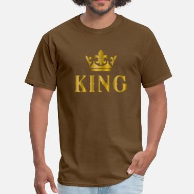 Kingly crown shirt 4.png - Men's T-Shirt