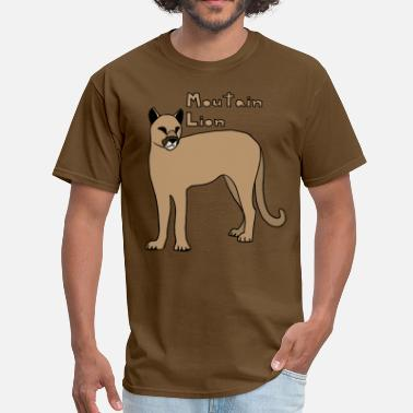 Mountain Lion mountain lion - Men's T-Shirt