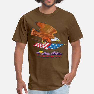 Patriotic Liberty Liberty! - Men's T-Shirt