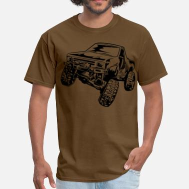 Rock Crawler Truck Crawler - Men's T-Shirt