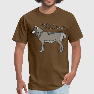 Timber Wolf eastern timber wolf - Men's T-Shirt