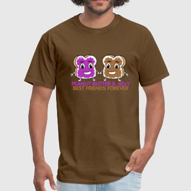 Peanut Butter And Jelly Bff Peanut Butter & Jelly BFF - Men's T-Shirt
