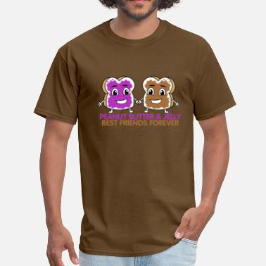 Jelly Peanut Butter & Jelly BFF - Men's T-Shirt