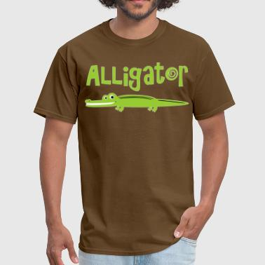 Alligator Funny Alligator - Men's T-Shirt