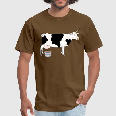 Magical Unicorn Dairy Milk Cow - Men's T-Shirt