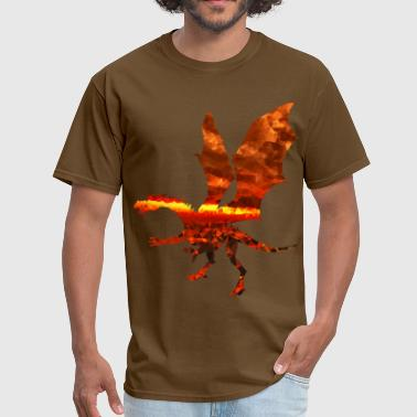 Brimstone Brimstone Dragon - Men's T-Shirt