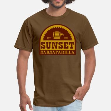 Sunset Sarsaparilla sunset_sas2 - Men's T-Shirt