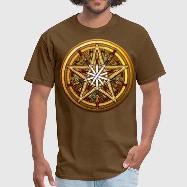 Meda Swords & Daggers Pentacle - Men's T-Shirt