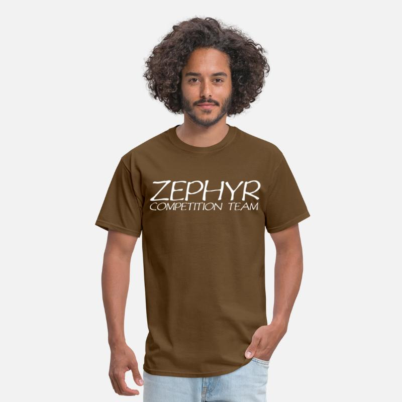 Funny T-Shirts - Zephyr competition team - Men's T-Shirt brown