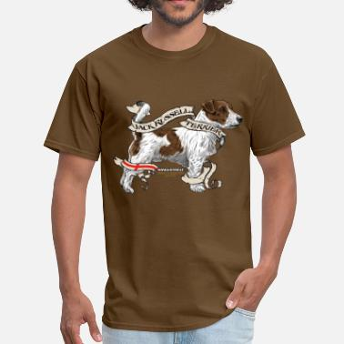 Jack Russell Terrier Dad JACK RUSSEL - Men's T-Shirt