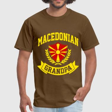 Macedonian Macedonian Grandpa - Men's T-Shirt