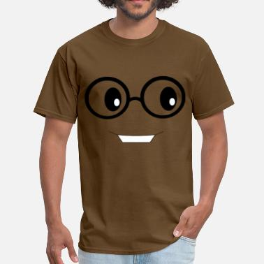 Nerdy Face - Men's T-Shirt