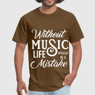 Without music - Men's T-Shirt