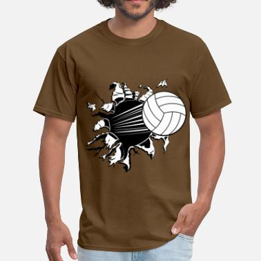 Girls Volleyball - Men's T-Shirt